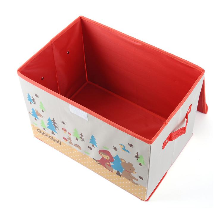 牛津布收纳箱 卡通整理箱 儿童储物箱 玩具收纳盒