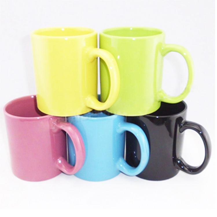 單色色釉馬克杯 陶瓷杯 水杯 咖啡杯
