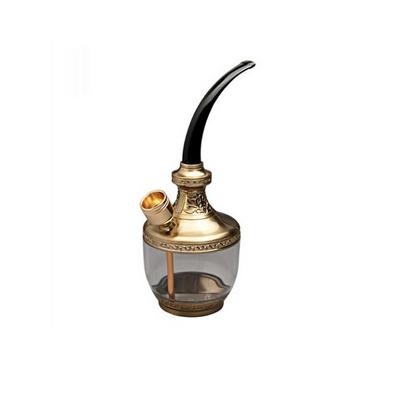 古典雕花過濾煙斗豪華雙用型正品煙嘴/煙斗/水煙壺定制