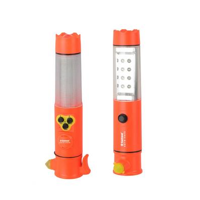 多功能聲光報警手電筒 安全錘定制