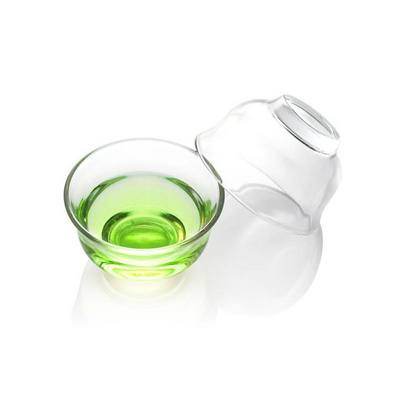 玻璃杯小碗防烫耐热手工茶具功夫小茶杯