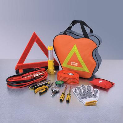 應急汽車工具包 汽車工具套裝13件套定制