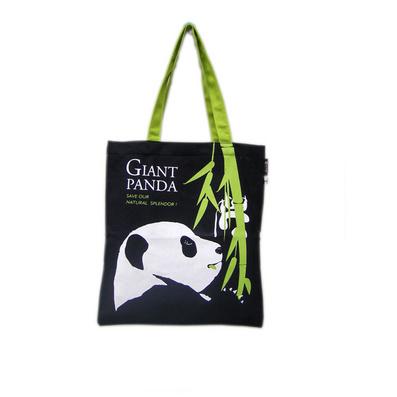 熊貓帆布袋 帆布環保袋