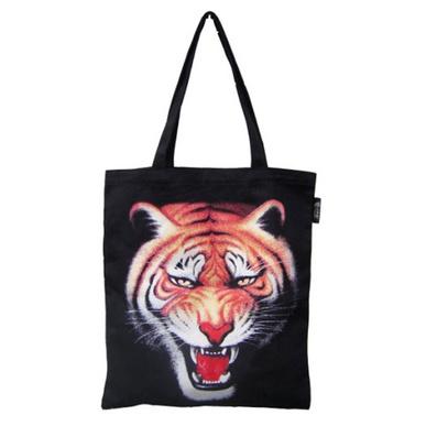 動物印花帆布袋 環保帆布袋定制