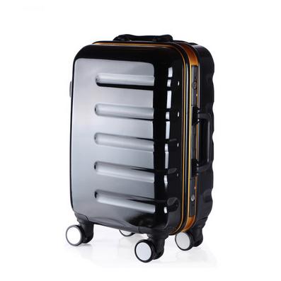 20寸時尚鋁框拉桿箱登機箱 萬向輪拉桿箱定制