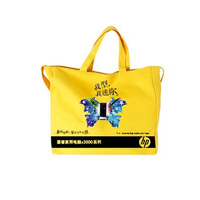 黄色环保帆布袋 优质帆布袋