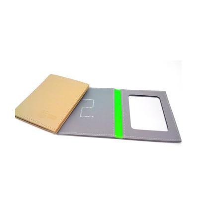 皮鏡 PU化妝鏡 皮質鏡 長方鏡 壓制絲印LOGO鏡子定制