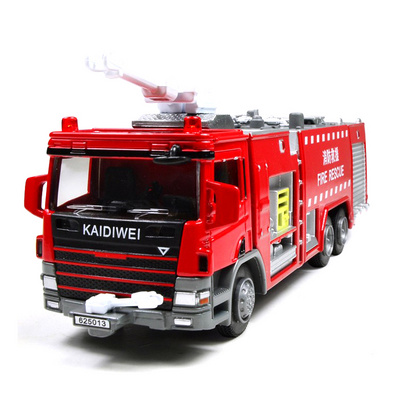 1:50全合金消防車系列之水箱消防車模型定制