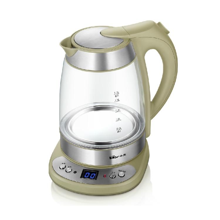 Bear/小熊 電熱水壺 高硼硅玻璃壺電水煲 燒水壺