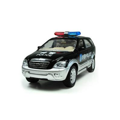 1:32合金回力車模北京現代特警部隊車模型定制