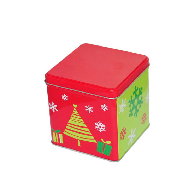 鐵罐 鐵盒 方罐 金屬罐 糖果罐定制