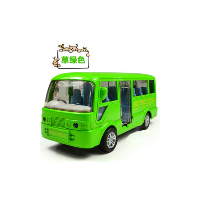 1:50合金回力城市巴士車模汽車模型定制