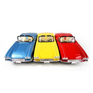 1:32全比例合金回力經典懷舊仿古敞篷老爺車汽車模型定制