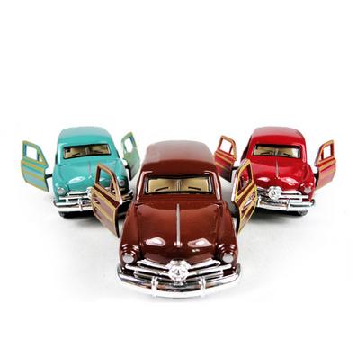 1:32全比例合金回力經典懷舊超長6座老爺車汽車模型定制