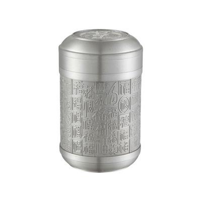 高檔錫器 百福錫罐 茶葉罐 錫罐