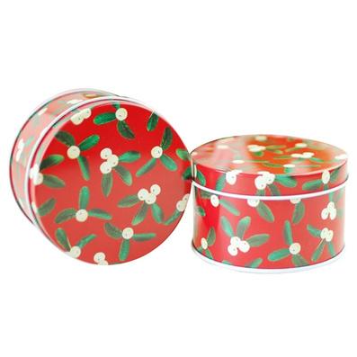 復古歐式喜糖盒 圓形馬口鐵盒定制