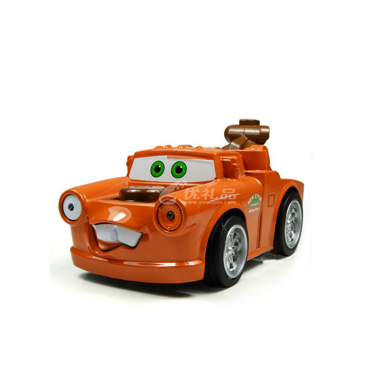合金回力带灯光音乐汽车总动员之板牙模型定制