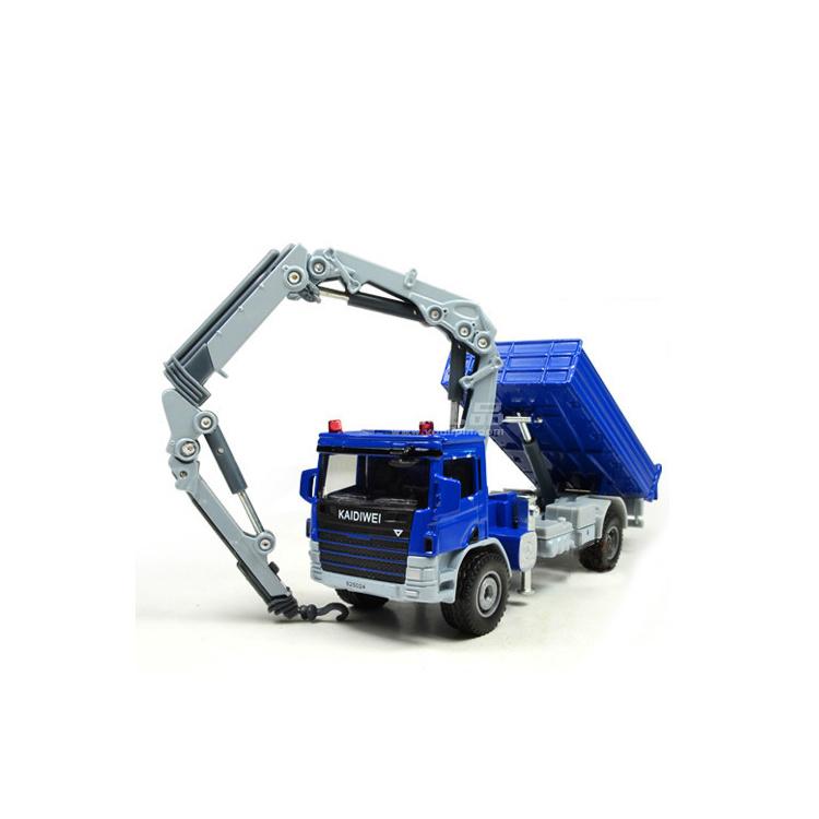 1:50全合金工程车系列之随车吊运输车模型定制