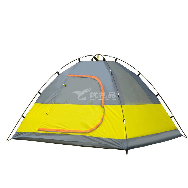湖畔營帳篷 3-4人雙層露營帳篷定制