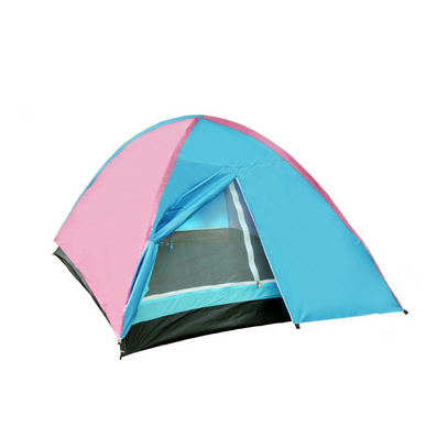 戶外雙人多人雙層帳篷定制