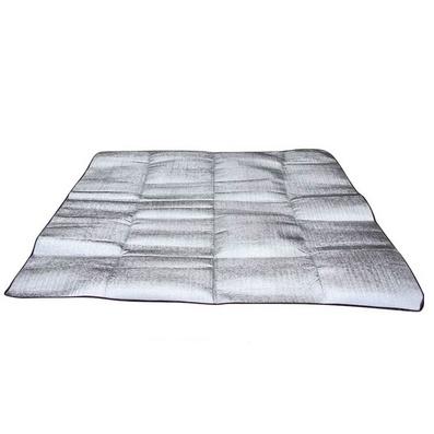 2*2M双面铝膜防潮垫三人防潮垫野餐垫 宝宝爬行垫定制