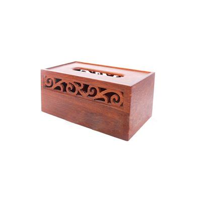 """""""如花""""紙巾盒 花梨木紙巾盒"""