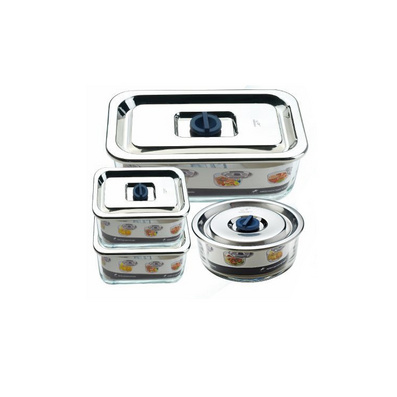 法國CHSEIKO精工牌保鮮盒4件套