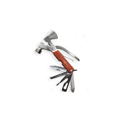 彩木柄不銹鋼救生錘 逃生錘破窗器 金屬斧頭款定制