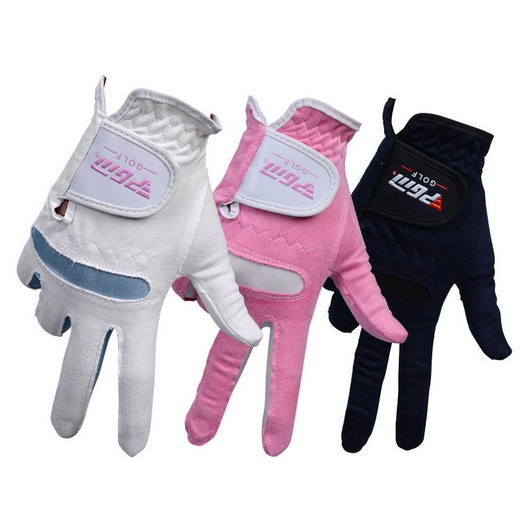 高爾夫手套 女士 超纖布手套 柔軟透氣定制