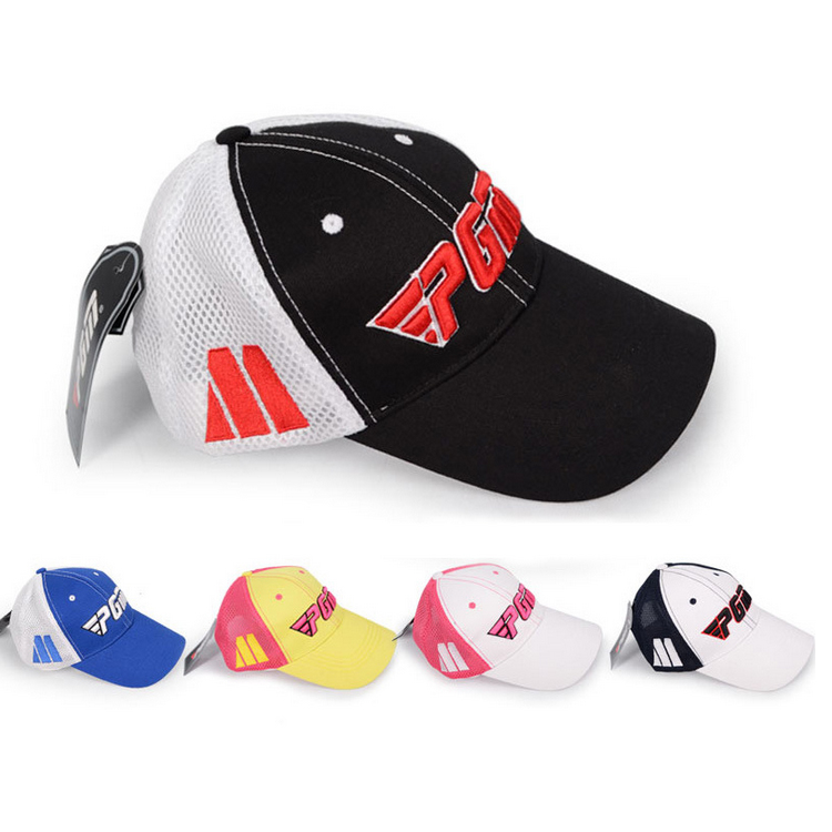 高尔夫帽子情侣款 高尔夫有顶 纯绵+透气定制