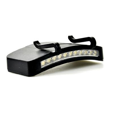可充電式帽檐燈 夾帽燈 頭燈 強光 充電 釣魚燈