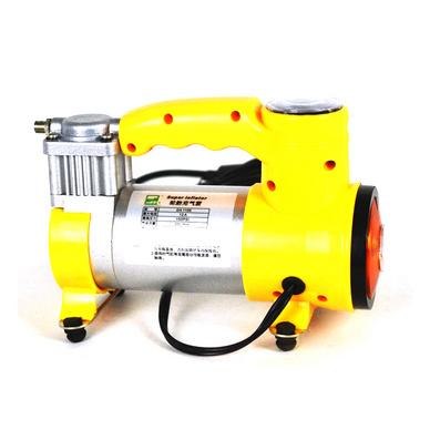 多功能車載打氣泵 12V車用電動打氣筒帶照明燈定制