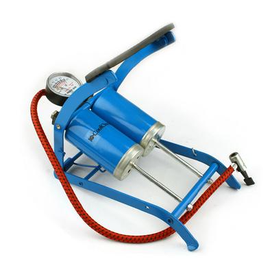雙筒高壓腳踏氣筒 充氣泵 高壓打氣筒定制