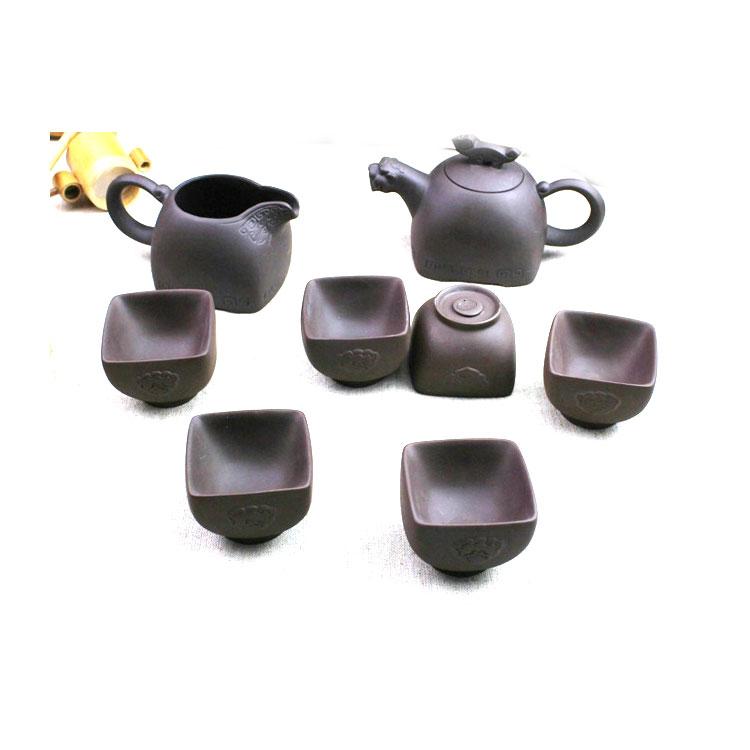 全手工紫砂壶  紫泥茶壶正品 紫砂茶壶 茶具