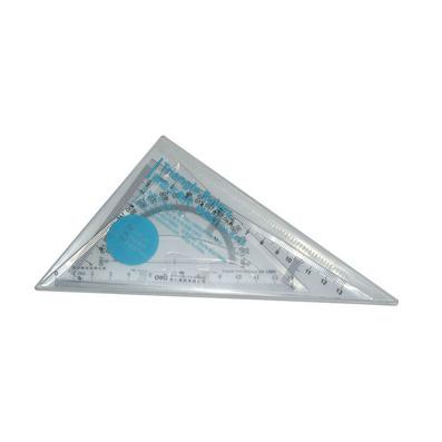 得力(deli)斜邊三角尺多功能三角尺
