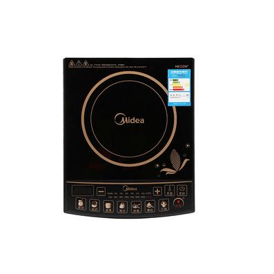 Midea/美的SK2105電磁爐 送湯鍋+炒鍋 七大烹飪功能家用電磁灶定制