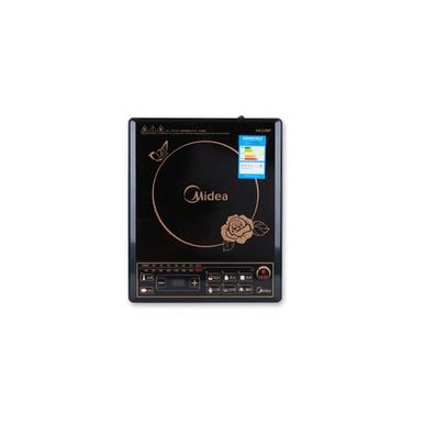 美的HK2002 电磁炉送汤锅 黑晶面板电陶炉家用电磁灶