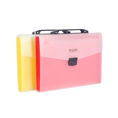 A4 12層多彩手提風琴包/文件包