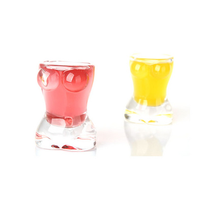 迷你玻璃白酒对杯-微醺诱惑 两只装 25ml定制