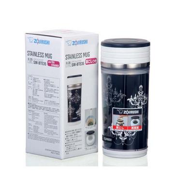 象印不銹鋼雙層真空保冷/保溫杯帶茶漏350ml