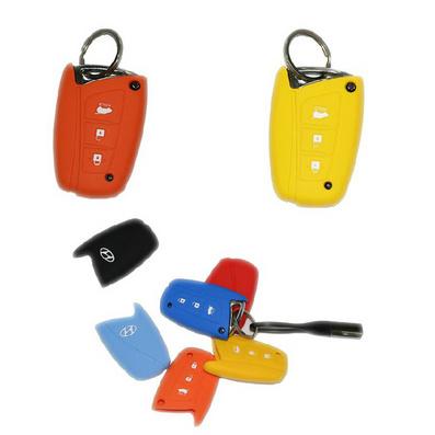 全新勝達專用IX45專用硅膠鑰匙包鑰匙套定制