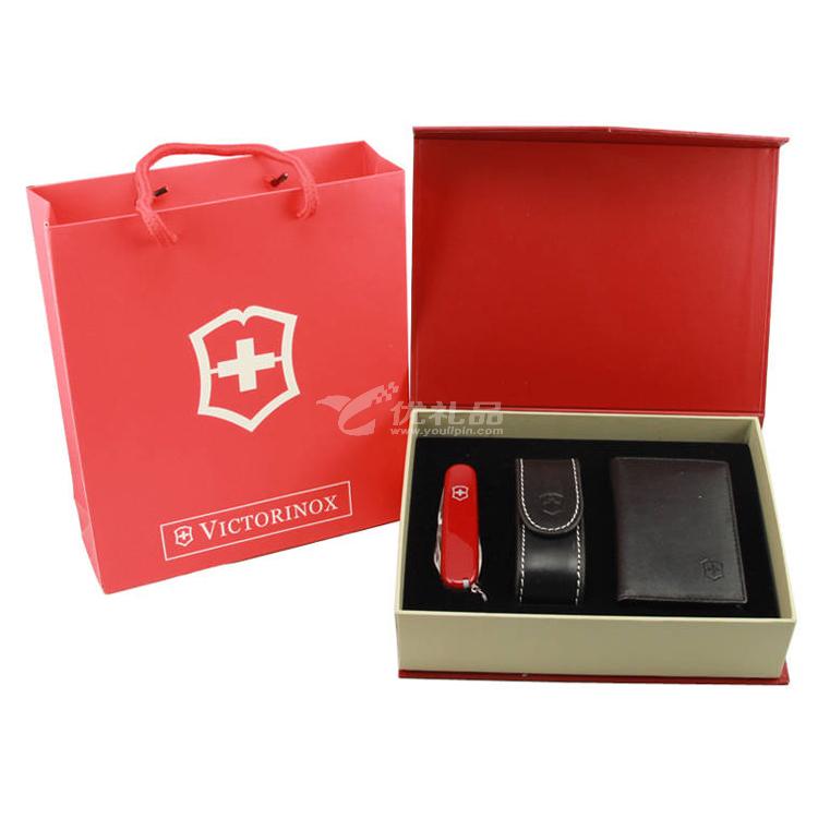 维氏VICTORINOX瑞士军刀礼盒三件套