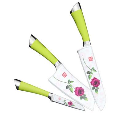 百年薔薇刀 百年玫瑰刀 印花刀 噴涂刀定制