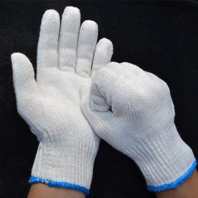 A级棉纱手套 保暖线手套定制