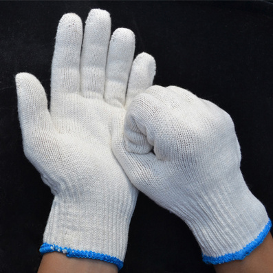 A級棉紗手套 保暖線手套定制