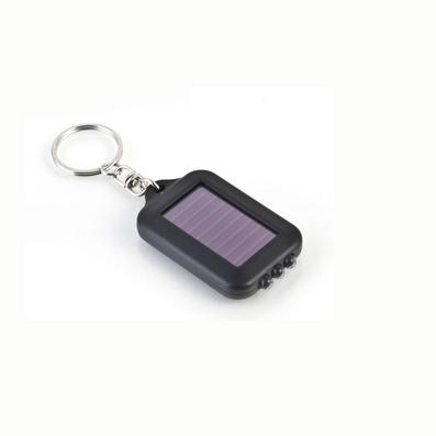 太陽能鑰匙扣電筒 小巧LED燈