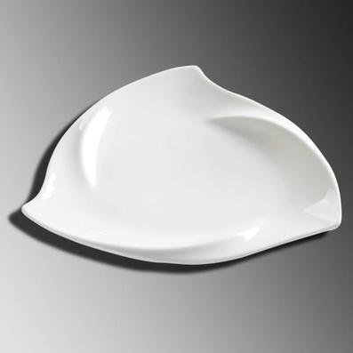 闪电三角盘 陶瓷冷菜热菜异型盘子