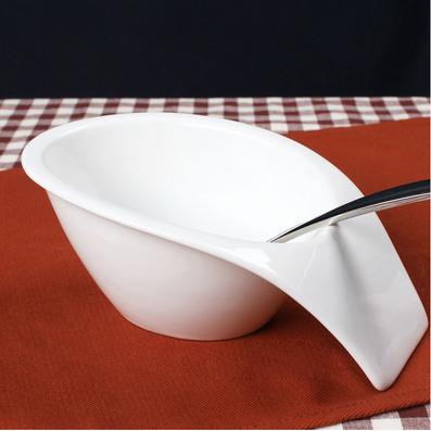 陶瓷餐具带手把汤碗 垂把碗