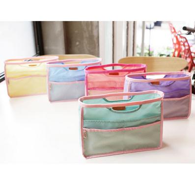 多功能手提包 收納包中包 化妝包 5色可選