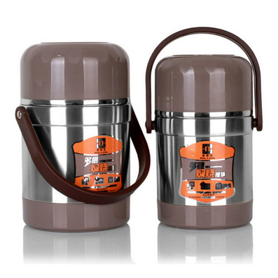 304不銹鋼真空保溫飯盒保溫桶 燜燒壺定制